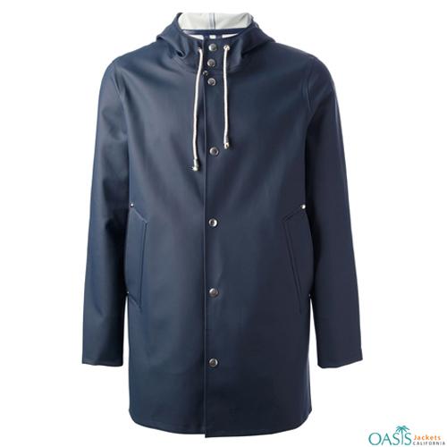 Robin Blue Rain Coat