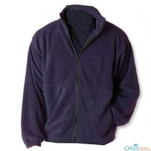 Royal Purple Polar Fleece Jacket Manufacturer