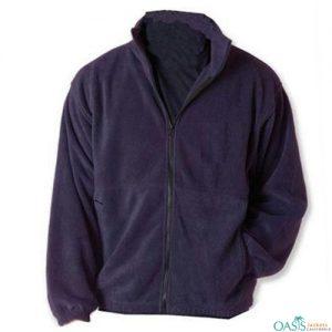 Royal Purple Polar Fleece Jacket Manufacturer