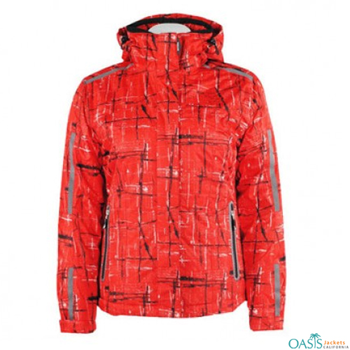 Rugged Red Ski Jacket
