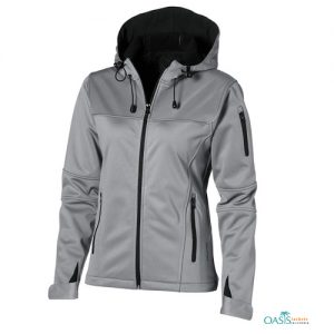 STRIKING GREY SOFTSHELL JACKET