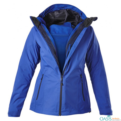 Wholesale Salmon 3 in 1 Jacket