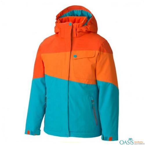Sea Blue Ski Jacket