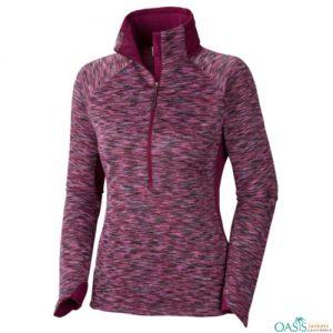 Self-printed women's jacket