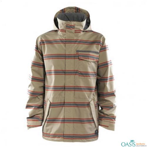 Sepia Shadow Ski Jacket