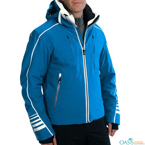 Shaded Blue Ski Jacket