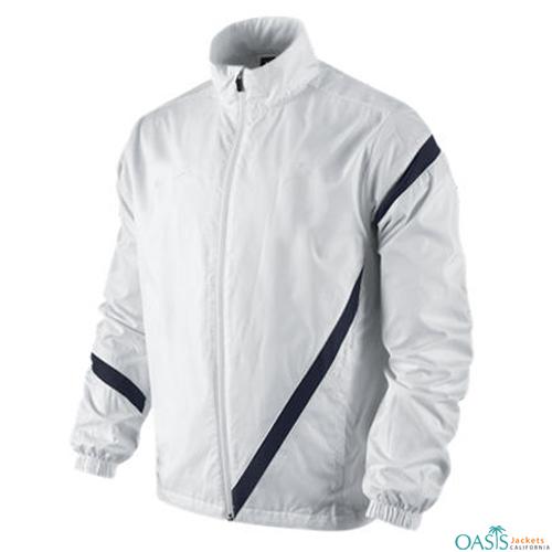 Wholesale Significant White Varsity Jacket