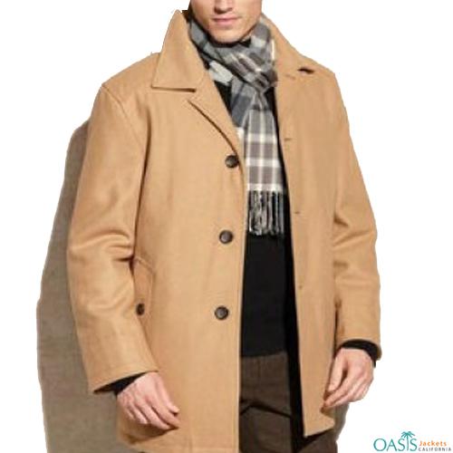 Smart Beige Long Coat