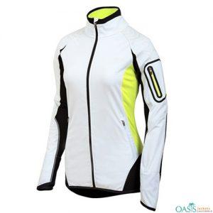 Smart White Fitness Jackets