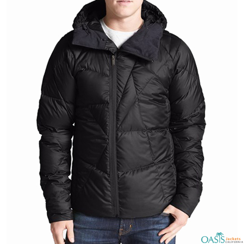 SPLENDID BLACK DOWN JACKET