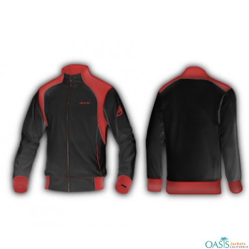 Sporty Red Lifestyle Jacket