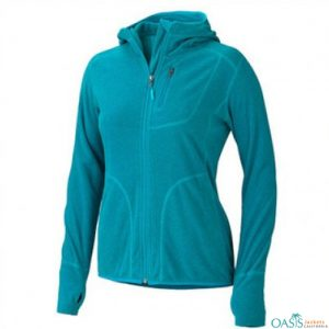 Spunky Blue Sports Fleece Jacket