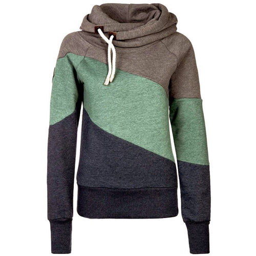Stylish Patterned Hoodie for Women