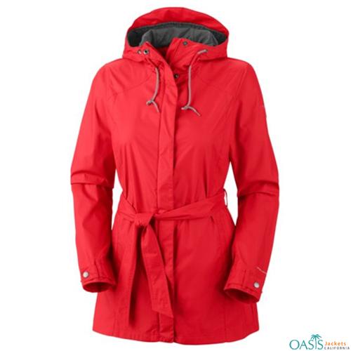 Tangerine Rain Jacket