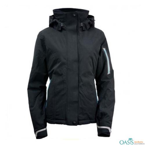 Tar Black Ski Jacket