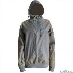 Thunder Grey Running Jacket