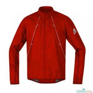 Turtleneck Red Jacket