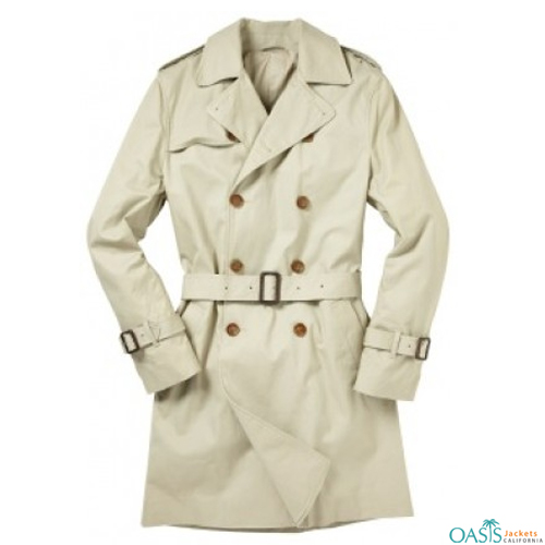 White Trench Coat
