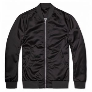 Wholesale Black Satin Jacket