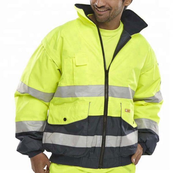 Wholesale Lime Green Safety Jacket