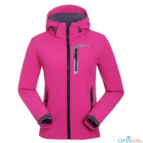 Wholesale Wild Strawberry 3 in 1 Jacket
