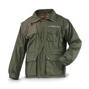 Wholesale Zippered Royal Khaki Jacket
