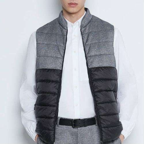 Antique Grey Hooded Vest Manufacturer