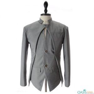 Archaic Grey Suit Jacket