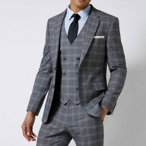 Archaic Grey Suit Jacket