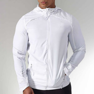 Arctic White Running Jackets Manufacturer