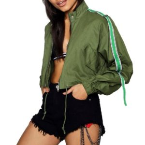 Wholesale Asparagus Green Sports Jackets Manufacturer