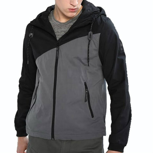 Black and Grey Running Jackets Manufacturer
