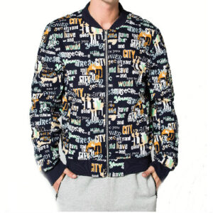 Black and White Sublimation Jackets Manufacturer