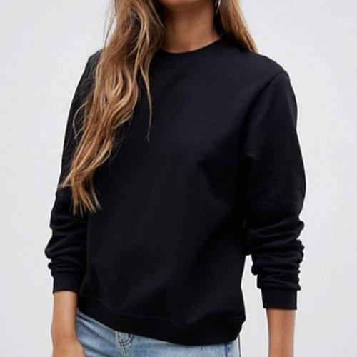 Black Full Sleeve Sweatshirt Manufacturer