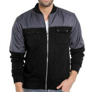 Wholesale Black Nylon Lightweight Windbreaker Manufacturer
