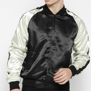 Wholesale Black Satin Jacket Manufacturer