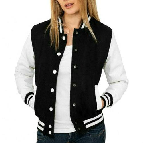 Wholesale Dominic Black And White Jackets