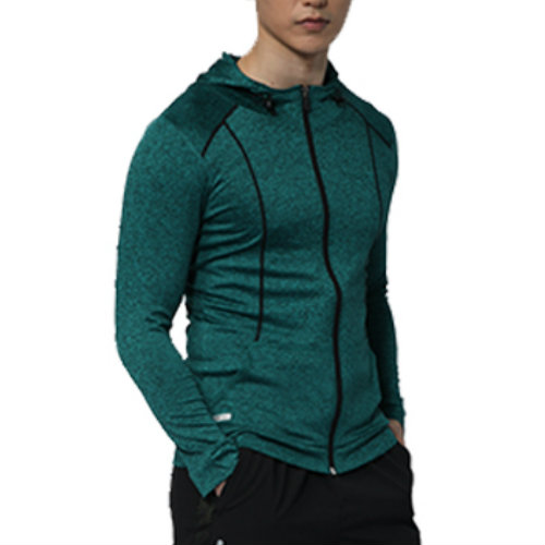 Wholesale Blue and Green Men's Custom Tracksuit