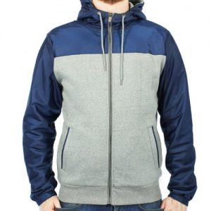 Blue and Grey Heather Rain Jackets