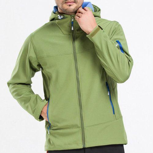 Blue-Green Fleece Jacket Manufacturer