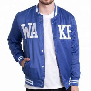 Wholesale Dew Drops Blue And White Jackets