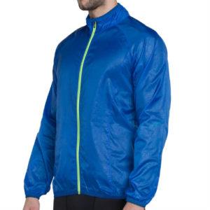Blue Zipper Running Jackets Manufacturer