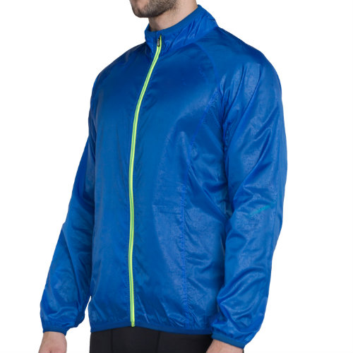 Blue Zipper Running Jackets Manufacturer