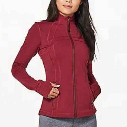 Wholesale Brick Red Fitness Jacket