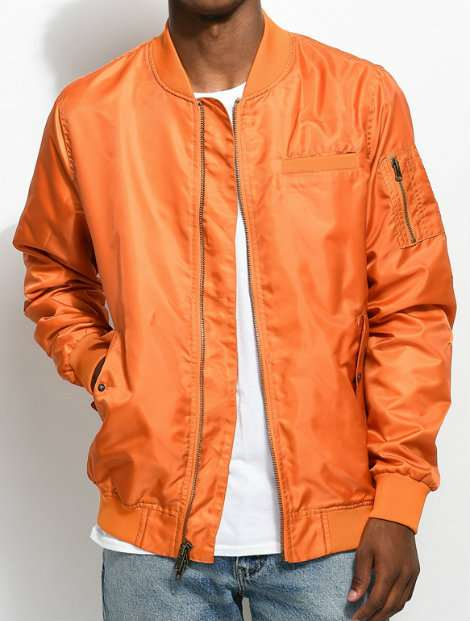Wholesale Bright Orange Softshell Jackets