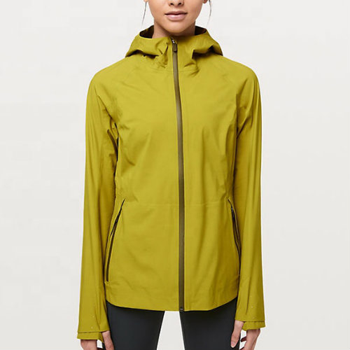 Bright Yellow Running Jackets Manufacturer