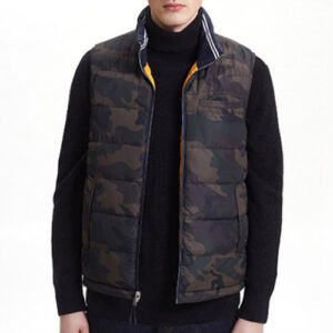 Brown and Grey Army Style Vest Jackets Manufacturer