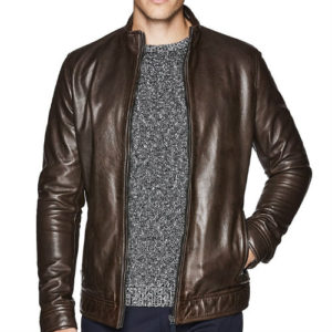 Wholesale Good Quality Brown Leather Jacket Manufacturer