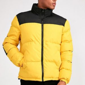 Canary Yellow Quilted Jacket