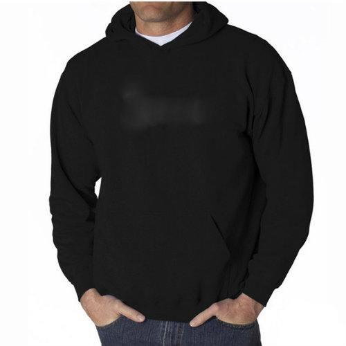 Charcoal Black Warmer Hooded Jacket Manufacturer